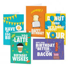 Birthday Card Sample Enchanting Variety Card Packs Breakfast Bunch Birthday Card Sampler