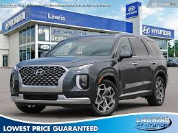 A calligraphy model was already available in hyundai's home market of korea, and the brand had recently added a vip package to the palisade's korean lineup. New 2021 Hyundai Palisade V6 Awd Ultimate Calligraphy Demo In Port Hope 197674 Lauria Hyundai