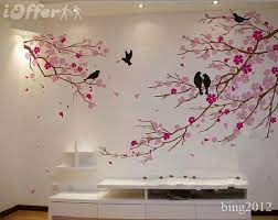 with birds wall decal tree wall decor
