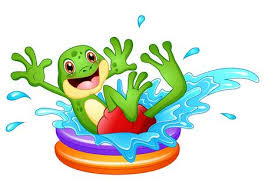 Image result for showering frog