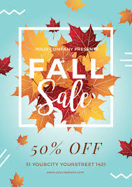sale flyers autumn sale flyer by infinite78910 graphicriver
