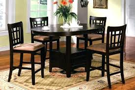 rustic round dining table set rustic counter height dining table sets counter height round dining table