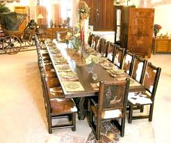 rustic solid wood dining table round top wooden sets
