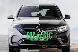 Den første utgaven hadde en elektrisk rekkevidde på opptil 34 kilometer etter nedc. 2020 Mercedes Benz Eqc Vs 2015 2018 Glc Differences Compared