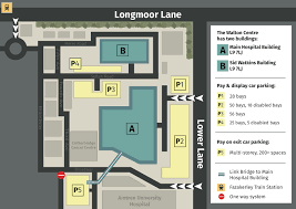 map of the walton centre hospital site