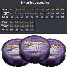 100/150/200/<b>300</b>/500m Fluorocarbon <b>Monofilament Nylon Fishing</b> ...