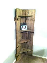 wooden corner shelf corner shelf with door corner shelf with door wooden shelves with doors barn wooden corner shelf