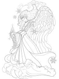 Coloring Pages Dragons And Fairies Adult By Artist Chronicles Network