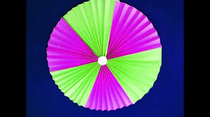 how to make simple paper rosettes flowers diy paper crafts paper fan backdrop tutorial