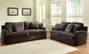 Microfiber Living Room Furniture Sets Homelegance Craine Sofa Set Champion Microfiber U9613 3
