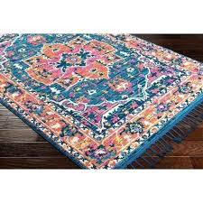 teal and orange area rug turquoise and orange area rug vintage fl teal orange area rug