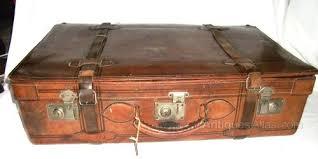 Vintage Leather Suitcase ...