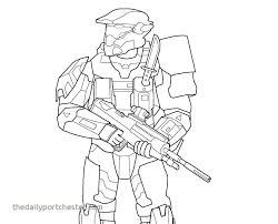 Halo 5 Coloring Pages Luxury Spartan Coloring Pages Halo Master