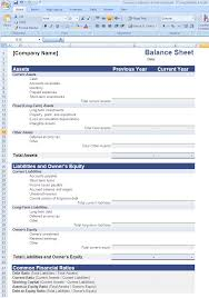 Balance Sheet Examples Excel And Profit Loss Account Format In India