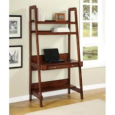 ladder desk and bookcase for leaning ladder desks to match every style and budget ladder ladder desk