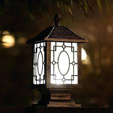 MyGarden Pedestal Post Solar Garden Lights Review  Solar Wind And Solar Powered Garden Lights Uk