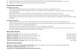 Resume Examples For Teachers Education Resume Examples Curriculum ...