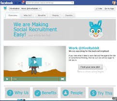 HireRabbit Debuts Its Facebook-Based Social Recruiting Platform | TechCrunch
