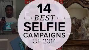 14 best selfie caigns 2016