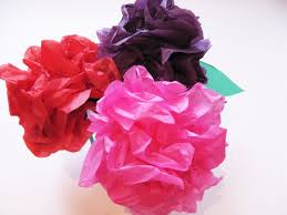 How To Make Flower Using Crepe Paper Simple Steps To Craft Tissue Paper Flowers