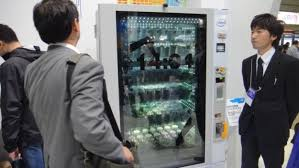 Touch Screen Vending Machine Japan Magnificent Vending Machine Uses 48inch Transparent Touchscreen And Anonymous