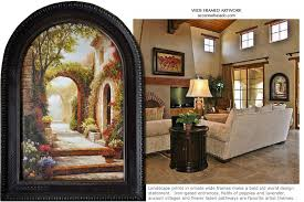 >tuscan wall decor brings color softness and dramatic mediterranean  tuscan wall decor brings color softness and dramatic mediterranean design to large walls in kitchen dining living and bedroom spaces