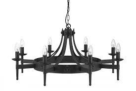 iron chandelier cartwheel