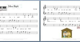 Christmas silent night, holy night easy piano classical sheet music. Pin On Piano Teaching