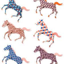 Studio Ditte Paarden Behang Rennende Paarden Flinders Verzendt