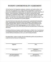 Confidentiality Agreement Samples 21 Confidentiality Agreement Form Template Free Documents In Pdf