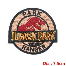 <b>Prajna</b> Dinosaur S1 <b>Jurassic Park Patch</b> Embroidered Ironing ...