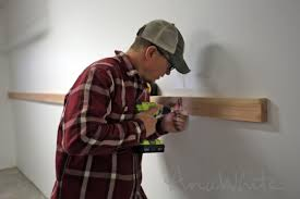 ana white easy and fast diy garage or basement shelving for tote storage diy projects
