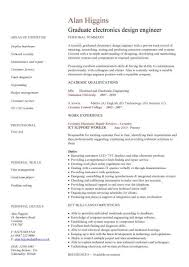 Engineering Graduate Resume Magnificent Graduate CV Template Student Jobs Graduate Jobs Career