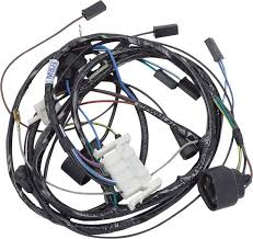 mopar parts electrical and wiring wiring and connectors 1972 mopar b body 400 440 w hei w o air pump w 41 51 amp alt engine wire harness stock w ecu