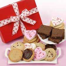 valentine s day cookies brownies gift box