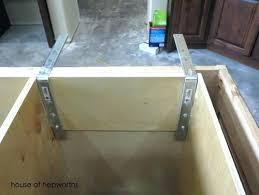 granite countertop overhang support requirements granite overhang without support