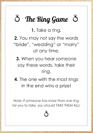 14 Easy And Super Fun Bridal Shower Games Free Printables