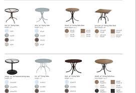 tropitone patio tables accessories