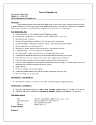 Sap bw fresher resume Carpinteria Rural Friedrich