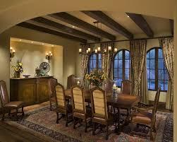 rustic dining room light idea