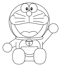 Tuyển chọn những tranh tô màu Doremon đáng yêu cho các bé - Tranh Tô Màu  cho bé