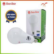 Rạng Đông Bóng đèn LED Bulb tròn 30W chip LED samsung ánh sáng tự nhiên  tuổi thọ cao A120N1/30W.H - Bóng đèn