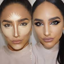 lol contour highlighting tricks using all