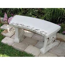 memorial bench with your custom saying