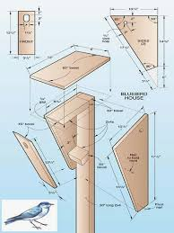 60 inspirational of bluebird house plans from one board pic