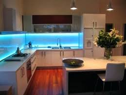Kitchen Countertop Lighting Bright Light Floods This Space From