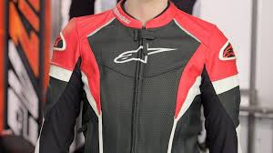 alpinestars stella gp plus r perforated leather jacket review at revzilla com you