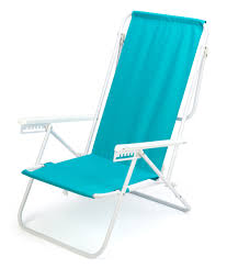 Light Beach Chairs 7 Position High Back Steel Tube Beach Chair By Trademark Innovations Light Blue