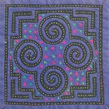 Quilts That Communicate Politics and History: Hmong and South ... & Hmong reverse applique, common in clothing. Adamdwight.com