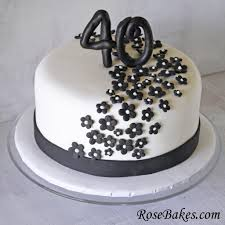 40th Birthday Cakes For Her 40th Birthday Decoration Ideas For Her